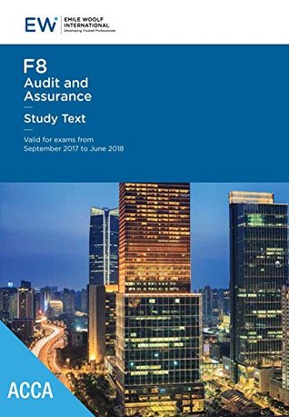 ACCA F8 Audit & Assurance - Study Text - 2017-18
