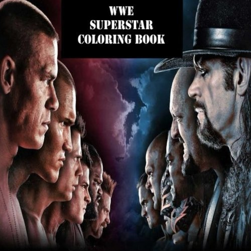 The WWE Superstar Coloring Book: The best coloring book with all of your favorite wrestling superstars.