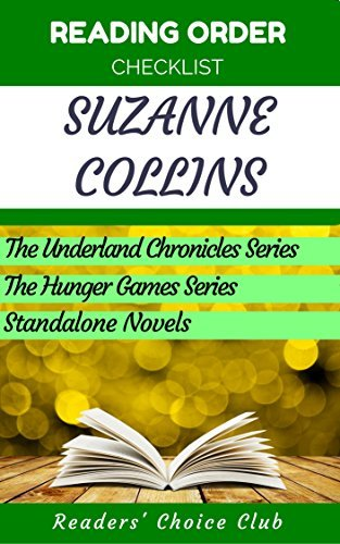 Reading order checklist: Suzanne Collins - Series read order: The Underland Chronicles Series, The Hunger Games Series, Novels