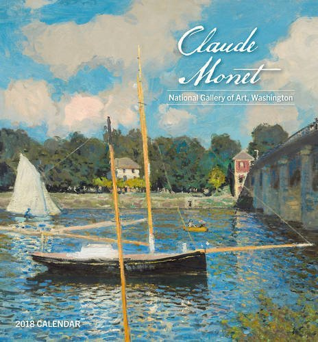 Claude Monet 2018 Mini Wall Calendar