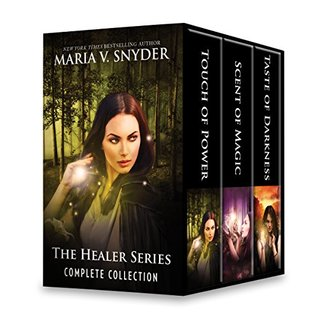 The Healer Series Complete Collection: Touch of Power\Scent of Magic\Taste of Darkness (An Avry of Kazan Novel)