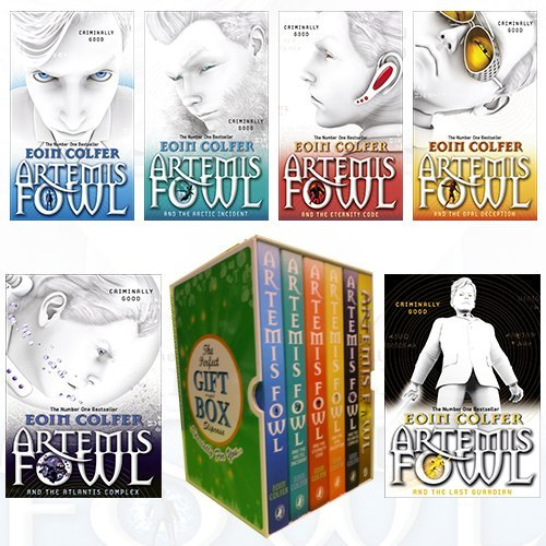 Artemis Fowl Series Eoin Colfer Collection 6 Books Bundle Collection Gift Wrapped Slipcase Specially For You