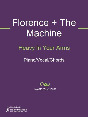 Heavy In Your Arms Sheet Music (Piano/Vocal/Chords)