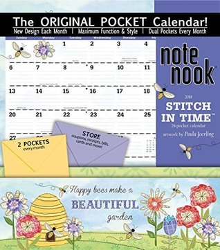 Stitch in Time Note Nook 2018 Calendar: With 24 Pockets