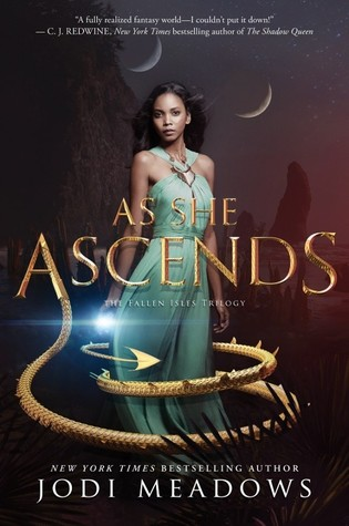 As She Ascends by Jodi Meadows