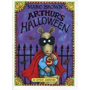 arthurs halloween arthur adventure series by marc brown