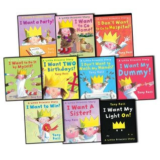 Little Princess Collection by Tony Ross (Ten Books in Gift Carry Bag). RRP £59.90. Titles include: I Don't Want to go to Hospital; I Want a Party; I Don't Want to Wash my Hands; I Want my Dummy; I Want a Sister. (Little Princess)