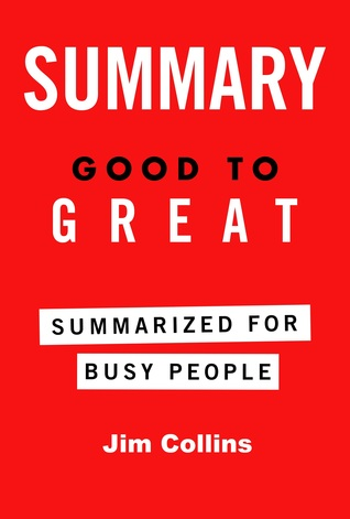 Good to great summarized for busy people by james c collins fandeluxe Gallery
