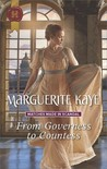 From Governess to Countess (Matches Made in Scandal, #1)
