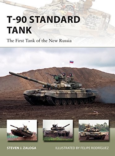 T-90 Standard Tank: The First Tank of the New Russia