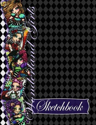 Wonderland Girls Sketchbook