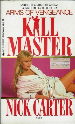 Arms of Vengeance (Killmaster, #254)