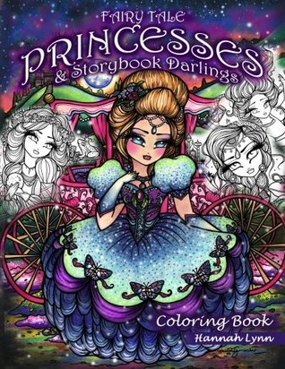 Fairy Tale Princesses Storybook Darlings Coloring Book