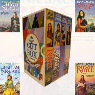 Gibson Family Saga Series Collection By Anna Jacobs 4 Books Bundle Gift Wrapped Slipcase Specially For You