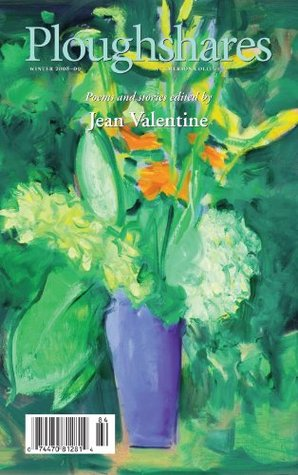 Ploughshares Winter 2008-2009 Guest-Edited by Jean Valentine