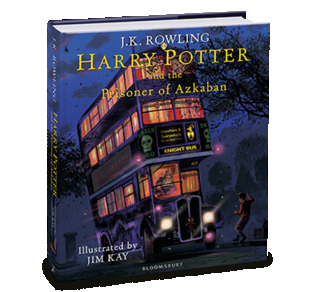 Harry Potter and the Prisoner of Azkaban  (Harry Potter, #3): Illustrated Edition