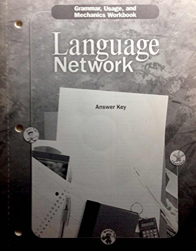 McDougal Littell Language Network Grade 12 Grammar, Usage and Mechanics Workbook Answer Key