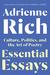 Essential Essays by Adrienne Rich