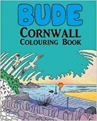 Bude Cornwall colouring book
