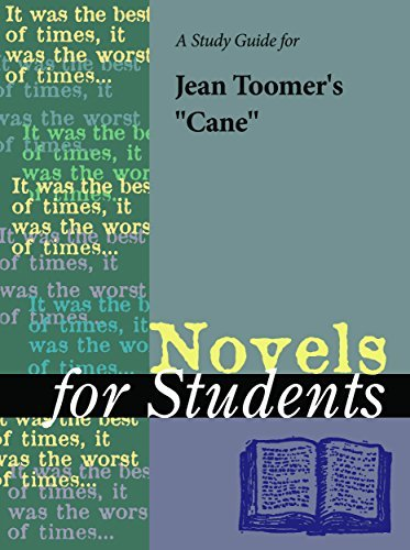 """A Study Guide for Jean Toomer's """"Cane"""""""