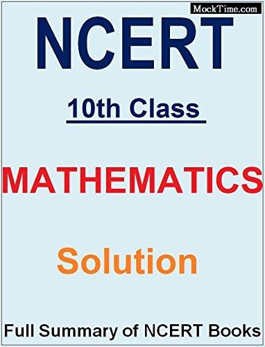 Math NCERT Solutions Class 10th