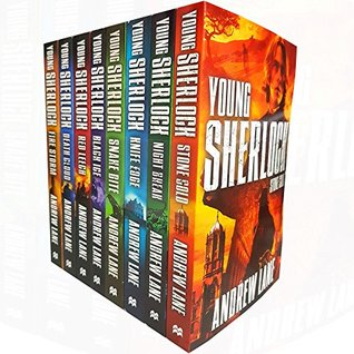 young sherlock holmes collection 8 books set by andrew lane
