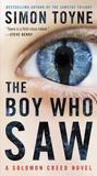 The Boy Who Saw-book cover