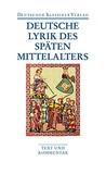 Deutsche Lyrik de...