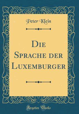 Die Sprache Der Luxemburger