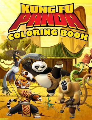 Kung Fu Panda Coloring Book: Dreamworks, Great Coloring Pages for Kids (Ages 4-8)