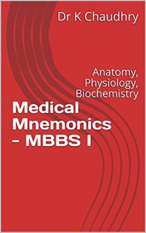 Medical Mnemonics - MBBS I: Anatomy, Physiology, Biochemistry