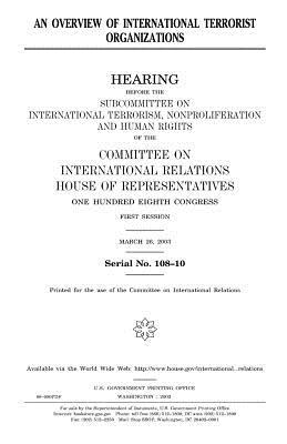 An Overview of International Terrorist Organizations