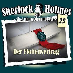 Der Flottenvertrag (Sherlock Holmes 23)