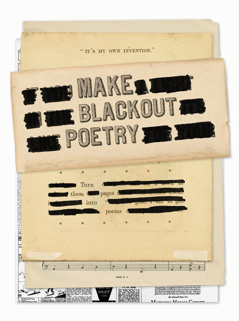 Make Blackout Poetry: Turn These Pages into Poems
