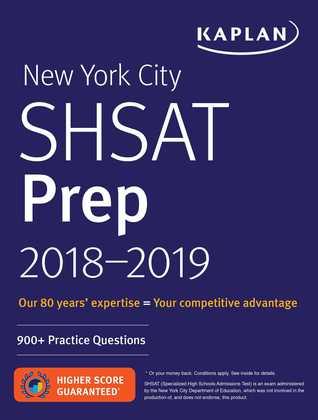 New York City SHSAT Prep 2018-2019: 900+ Practice Questions
