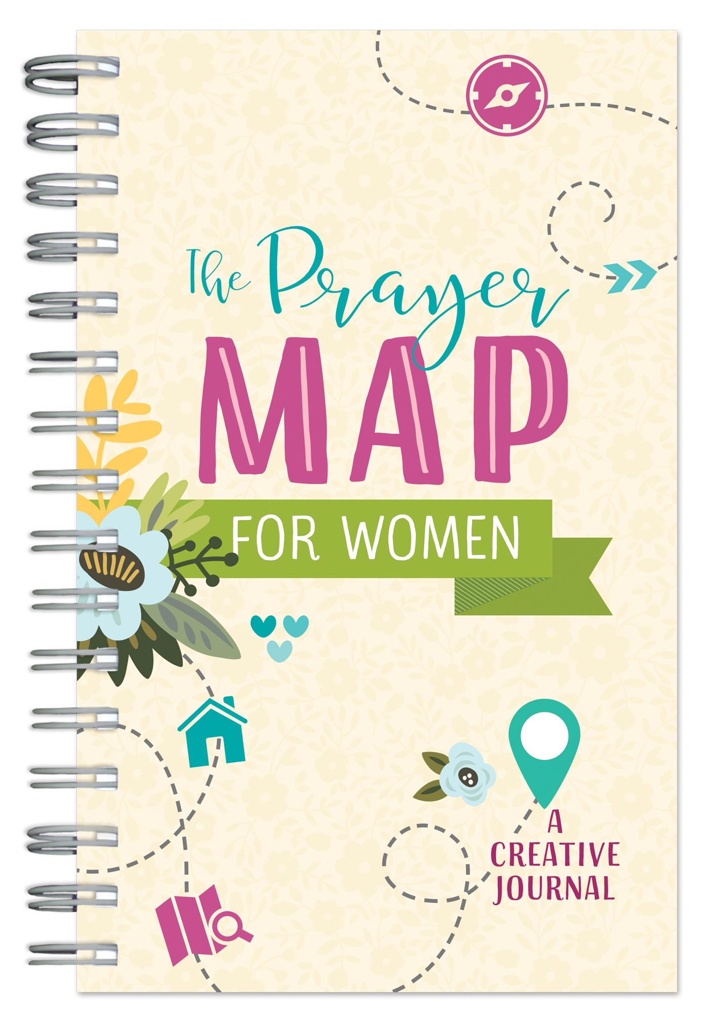 The Prayer Map for Women: A Creative Journal