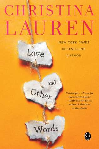 Image result for love and other words christina lauren