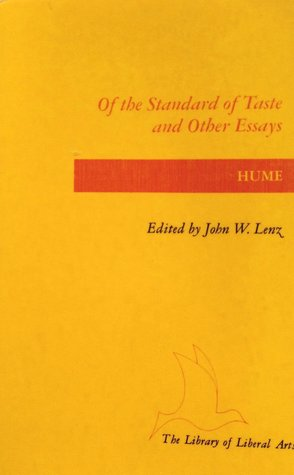 Of the Standard of Taste and Other Essays