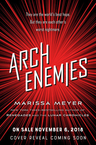 Image result for archenemies marissa meyer