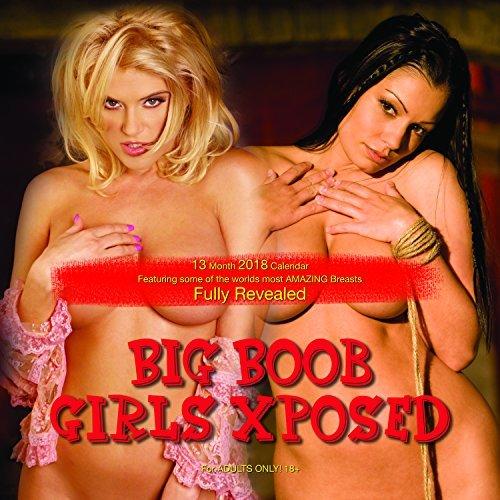 Big Boob Girls Xposed Calendar 2018 featuring Play Boy Topless Models