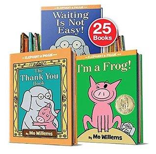 Complete Elephant & Piggie Collection 25 books set