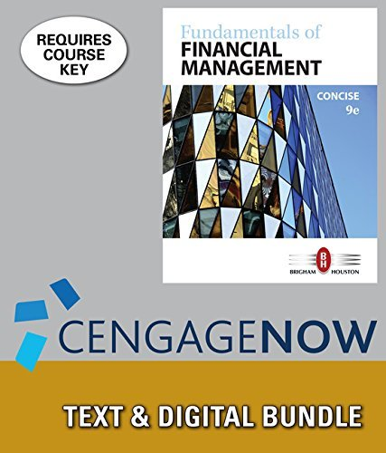 Fundamentals of Financial Management, Concise Edition [with CengageNOW 1-Term Access Code]