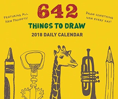 642 Things to Draw 2018 Daily Calendar