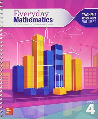 the-university-of-chicago-school-mathematics-project-everyday-mathematics-teacher-s-lesson-guide-grade4-volume-1-0021410011-9780021410019