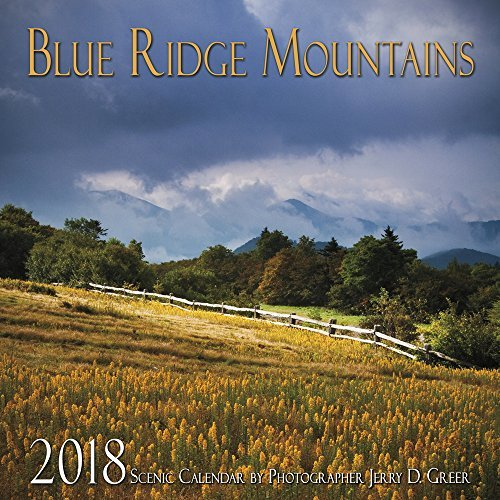 2018 Blue Ridge Mountains Scenic Wall Calendar