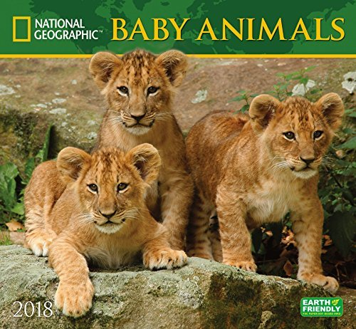 National Geographic Baby Animals 2018 Wall Calendar