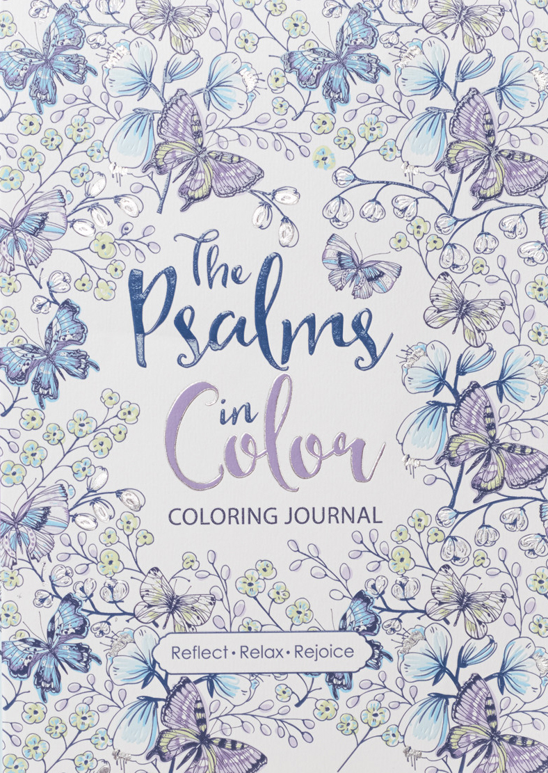 """The Psalms in Color"" Inspirational Creative Coloring Journal"