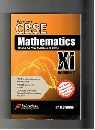 Eduwiser's CBSE Mathematics for Class 11 - Vol. 2