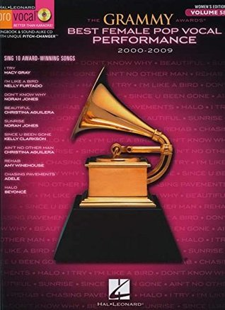 The Grammy Awards Best Female Pop Vocal Performance 2000-2009 - Songbook & CD Female V. 58