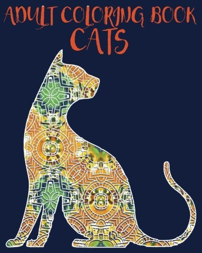 Adult Coloring Book - Cats